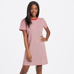 Draper James Textured Shift Sweater Dress Large